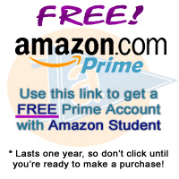 Amazon Prime free for Students