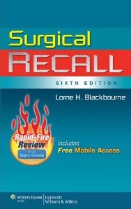 Blackbroune Surgical Recall for Third Year Med Students