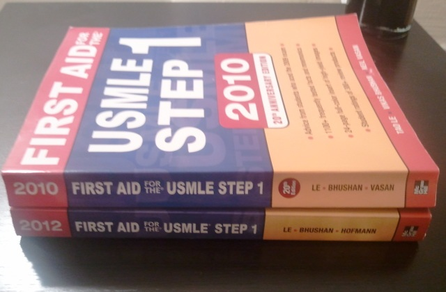 Compare First Aid for the USMLE Step 1 2012