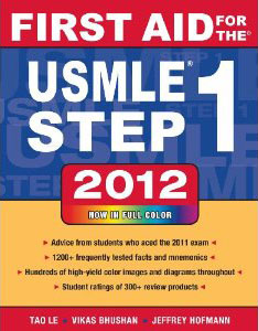 First Aid USMLE Step 1 2012 review