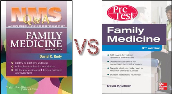 NMS vs PreTest Family Medicine