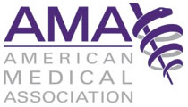 AMA logo, producers of FREIDA