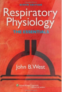 West's 9th edition of Respiratory Physiology, great for medical students